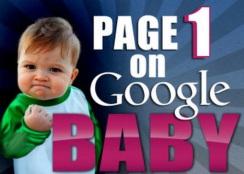baby on pg 1 google